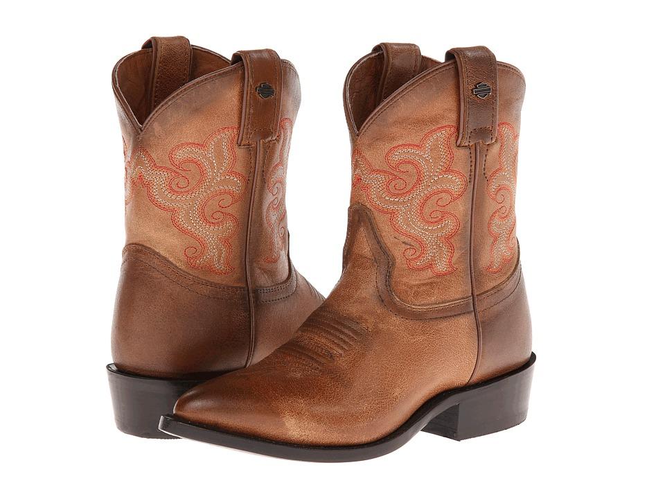 Harley-Davidson - Emma-Lee (Tan) Cowboy Boots