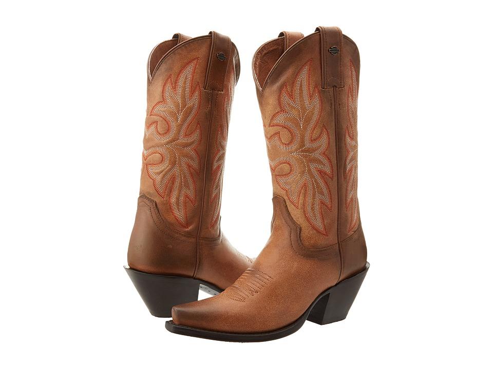 Harley-Davidson - Lorely (Tan) Cowboy Boots