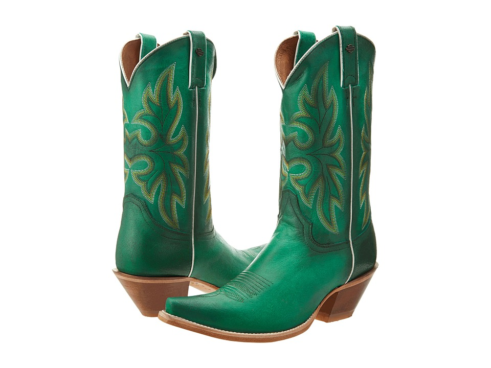 Harley-Davidson - Lorely (Green) Cowboy Boots