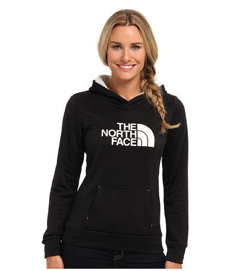 The North Face - Fave Pullover Hoodie (TNF Black/TNF White) Women's Sweatshirt