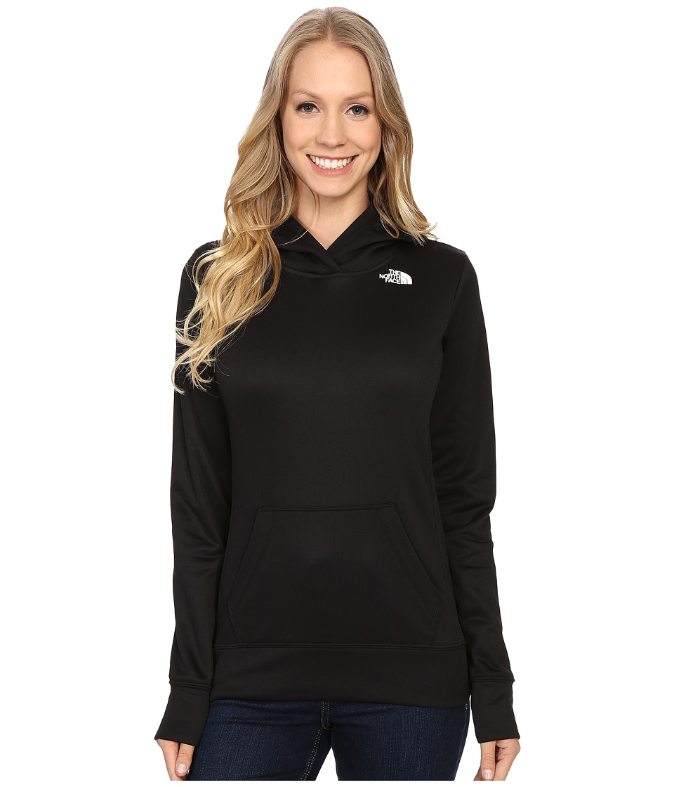 The North Face - Fave Logo Pullover Hoodie (TNF Black/TNF White) Women's Sweatshirt