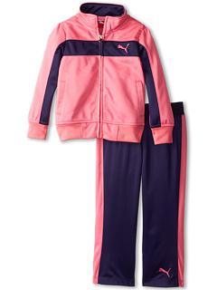SALE! $18.2 - Save $34 on Puma Kids Printed Colorblock Stripe Tricot Set (Toddler) (Carmine Rose) Apparel - 65.00% OFF $52.00