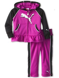 SALE! $16.99 - Save $31 on Puma Kids PUMA Peplum Hoodie Set (Infant) (Purple Cactus) Apparel - 64.60% OFF $48.00