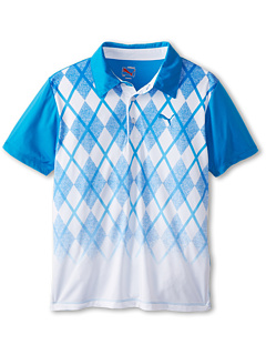 SALE! $11.99 - Save $28 on Puma Kids Argly Polo (Big Kid) (Blue Aster) Apparel - 70.03% OFF $40.00