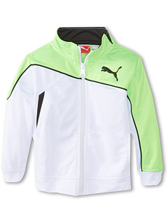 SALE! $15.99 - Save $30 on Puma Kids Slanted Jacket (Toddler) (White) Apparel - 65.24% OFF $46.00