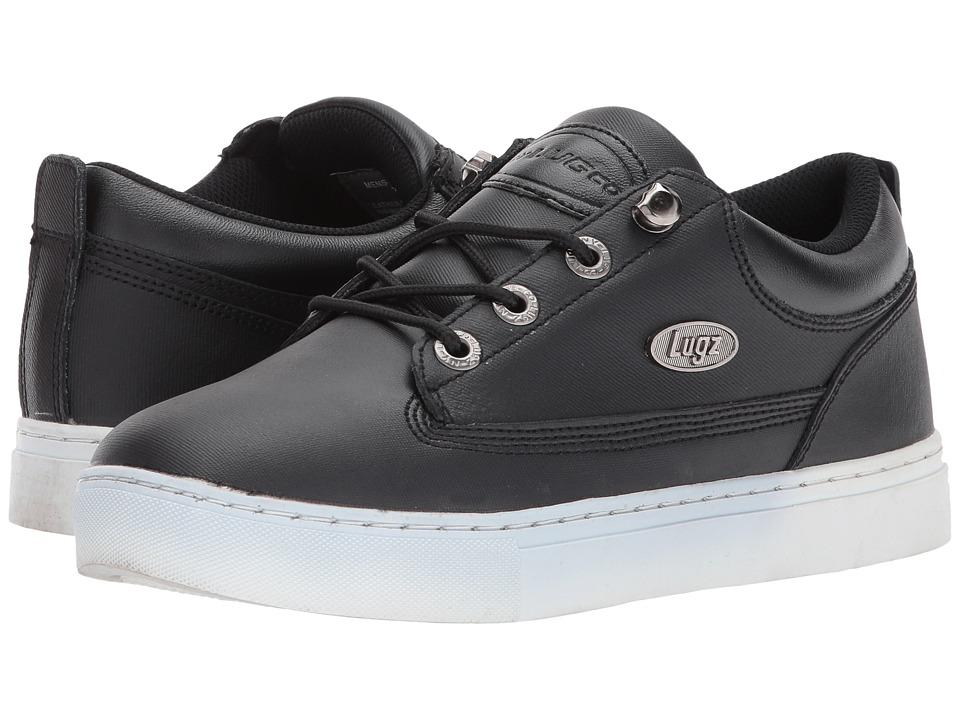 Lugz - Gypsum Lo (Black/White Rubberized Leather) Men's Lace up casual Shoes
