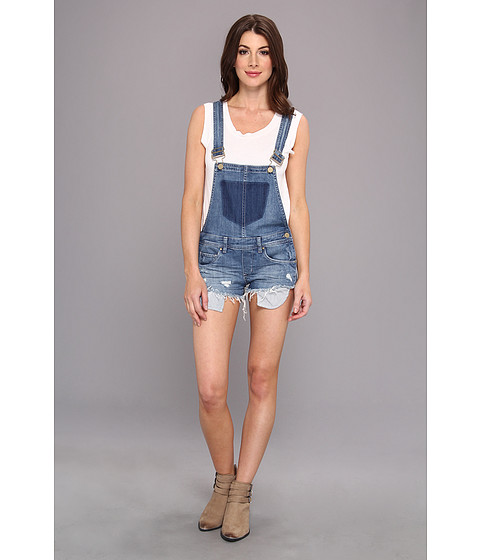 dbf785012c UPC 744199510529 product image for Blank NYC Short Overalls in Bunch of  Fives (Bunch of