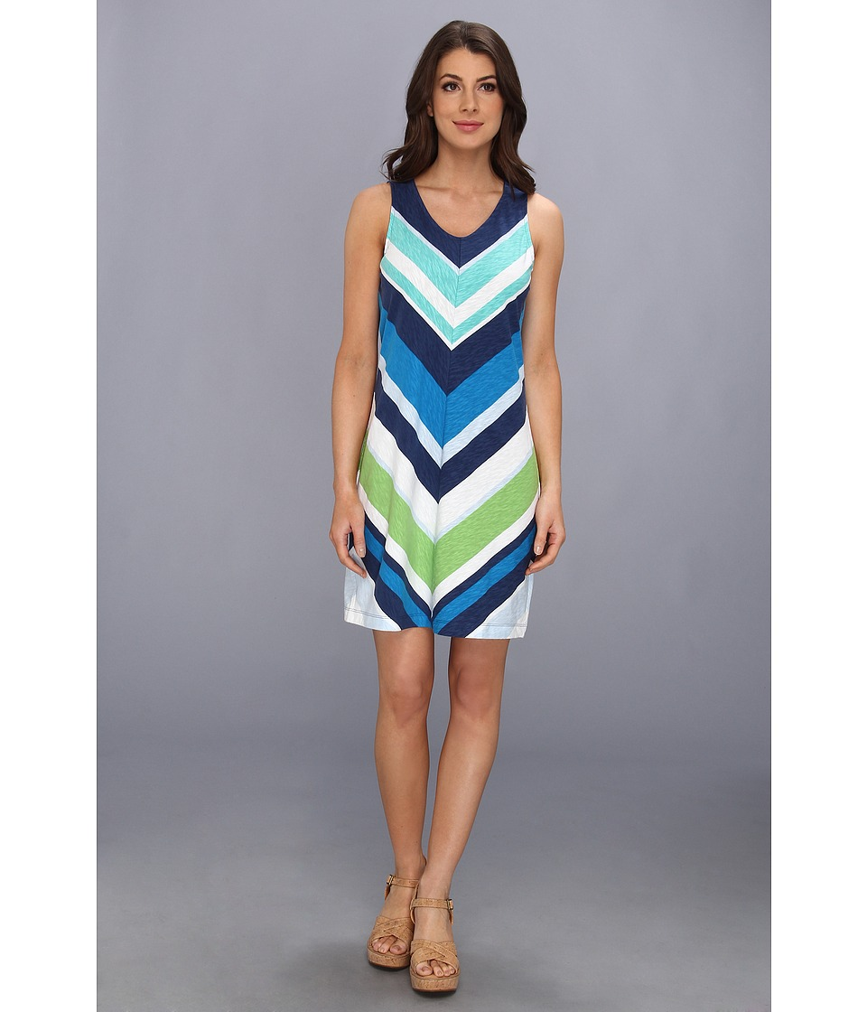 Tommy Bahama - Beach Break Stripe Dress (Blueberry) Women's Dress
