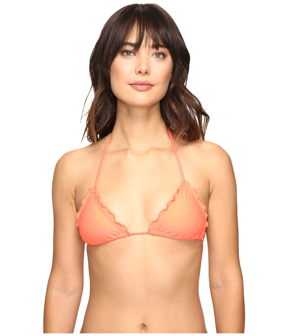 Luli Fama - Cosita Buena Wavey Triangle Bikini Top (Hot Mess) Women's Swimwear