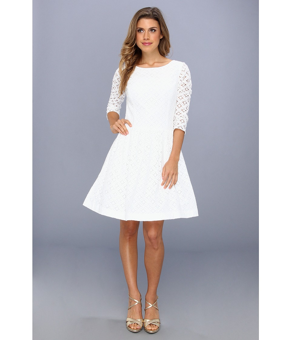 Lilly Pulitzer - Lori Dress (Resort White Xo Lace) Women