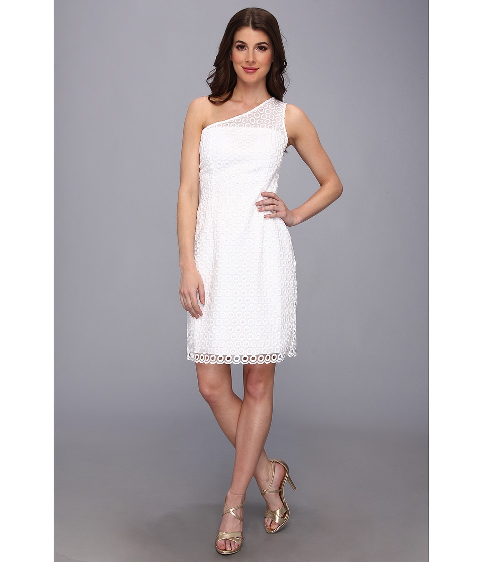 Lilly Pulitzer - Davids Dress (Resort White Darling Eyelet) Women