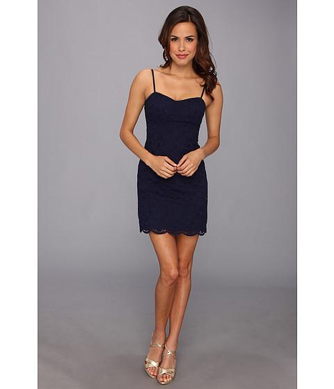 Lilly Pulitzer - McCallum Dress (True Navy Charleston) Women's Dress