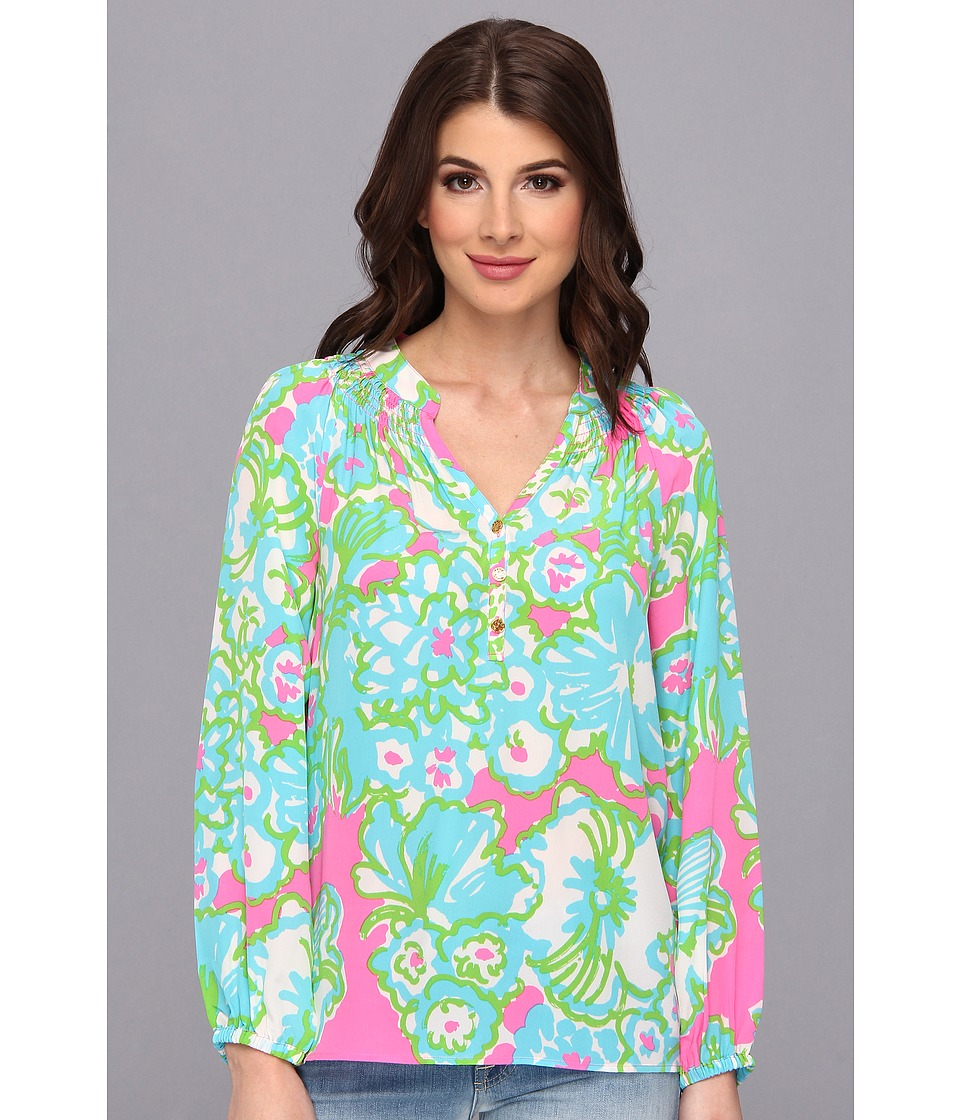Lilly Pulitzer - Elsa Top (PB Pink A Delicacy) Women's Blouse