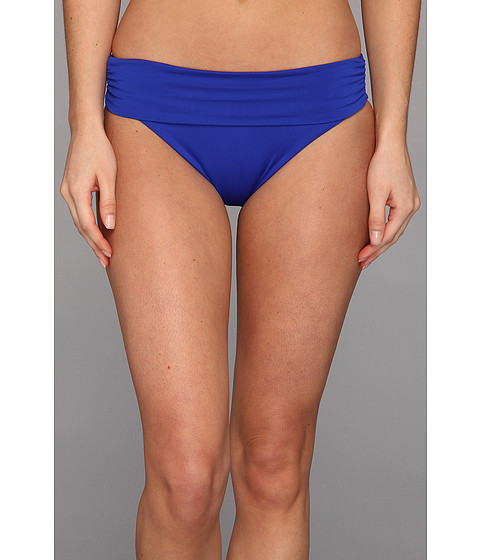 Vitamin A Swimwear - Convertible Waist Full Coverage Bottom (Klein Blue Toscano) Women