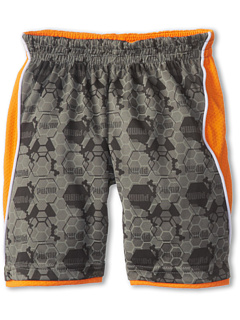 SALE! $9.1 - Save $17 on Puma Kids Printed Short (Toddler) (Pewter) Apparel - 65.00% OFF $26.00