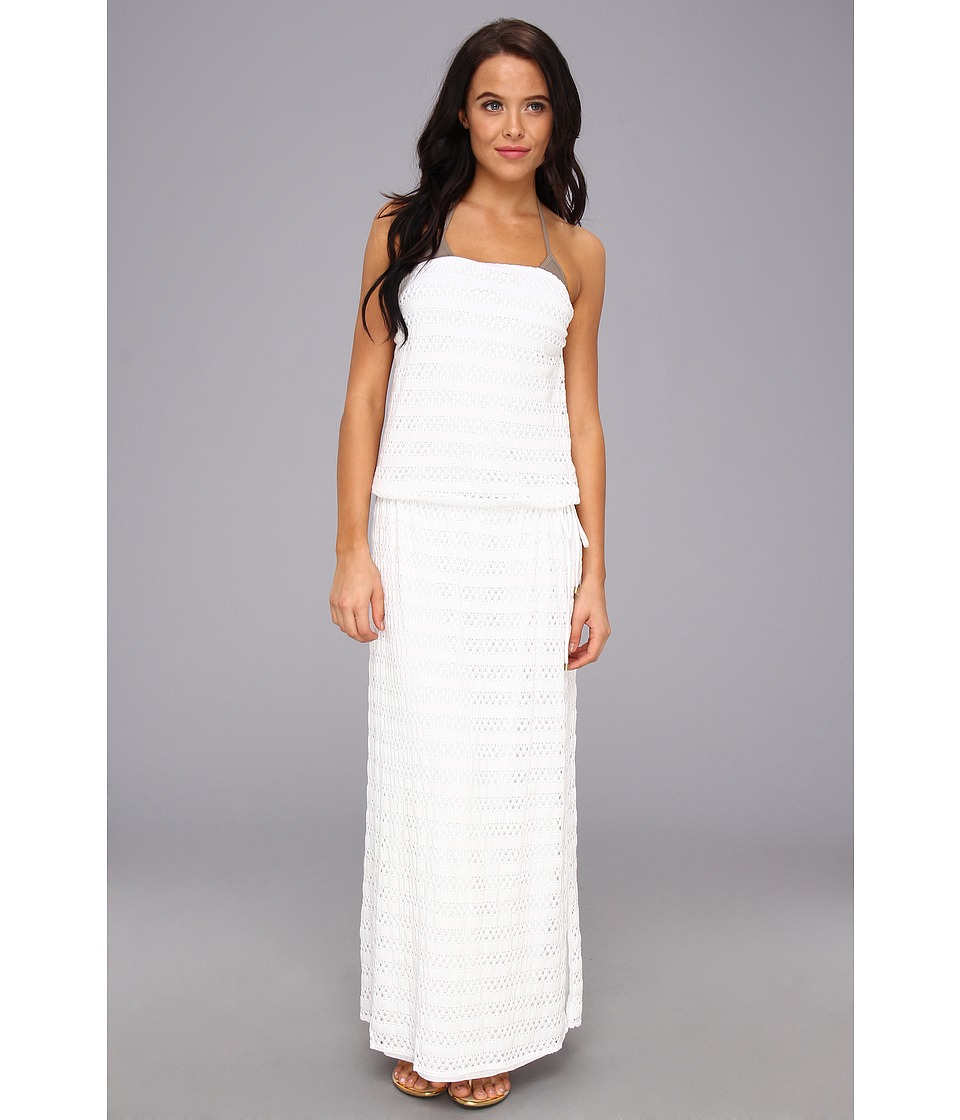 Vitamin A Swimwear - Olivia Strapless Maxi Cover-up (Anastasia Crochet) Women's Dress