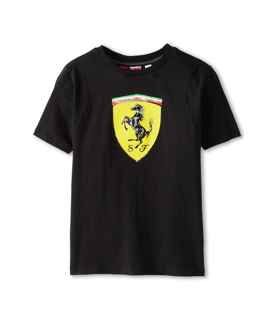 Puma Kids Ferrari Tee Boys T Shirt (Black)