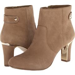 Anne Klein Sukey (Cognac Suede) Footwear