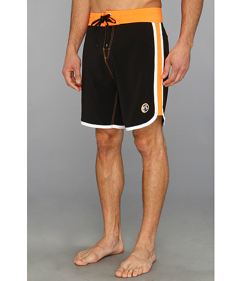 Body Glove - Scallopini Boardshort (Black) Men's Swimwear