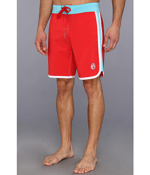 Body Glove - Scallopini Boardshort (Infrared) Men's Swimwear