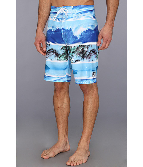 Body Glove - Backyards Boardshort (Blue) Men's Swimwear
