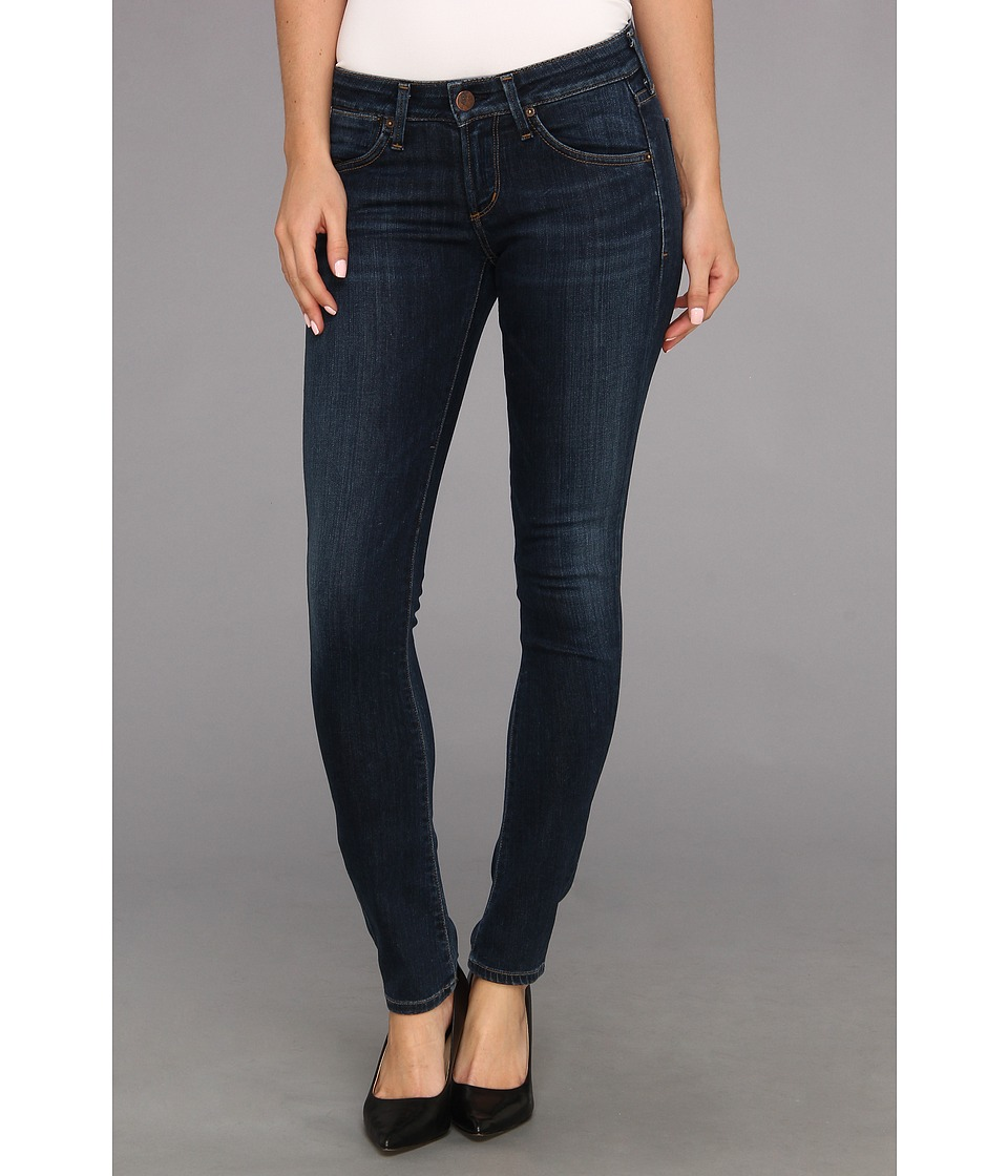 Image of A Gold E - Chloe Low-Rise Slim in Nice (Nice) Women's Jeans