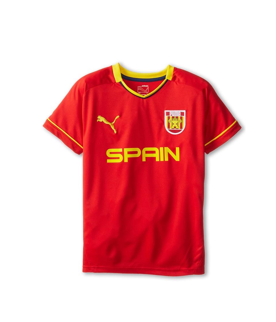 Puma Kids Spain Tee Boys T Shirt (Multi)