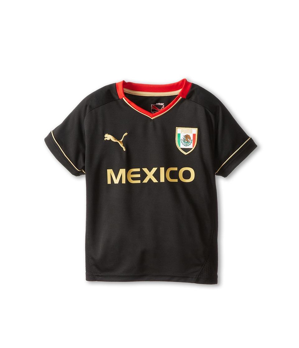 Puma Kids Mexico Tee Boys T Shirt (Black)
