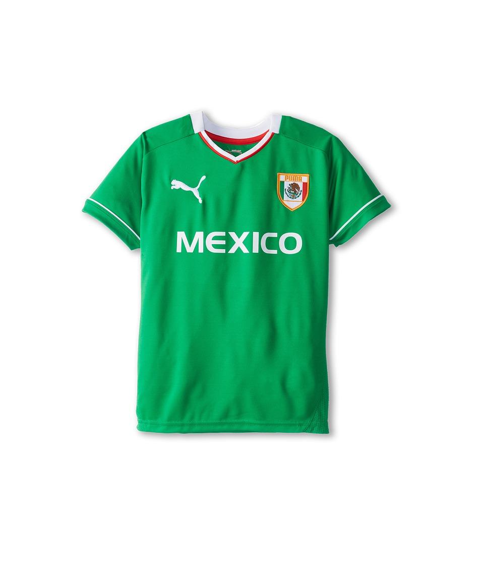 Puma Kids Mexico Tee Boys T Shirt (Green)