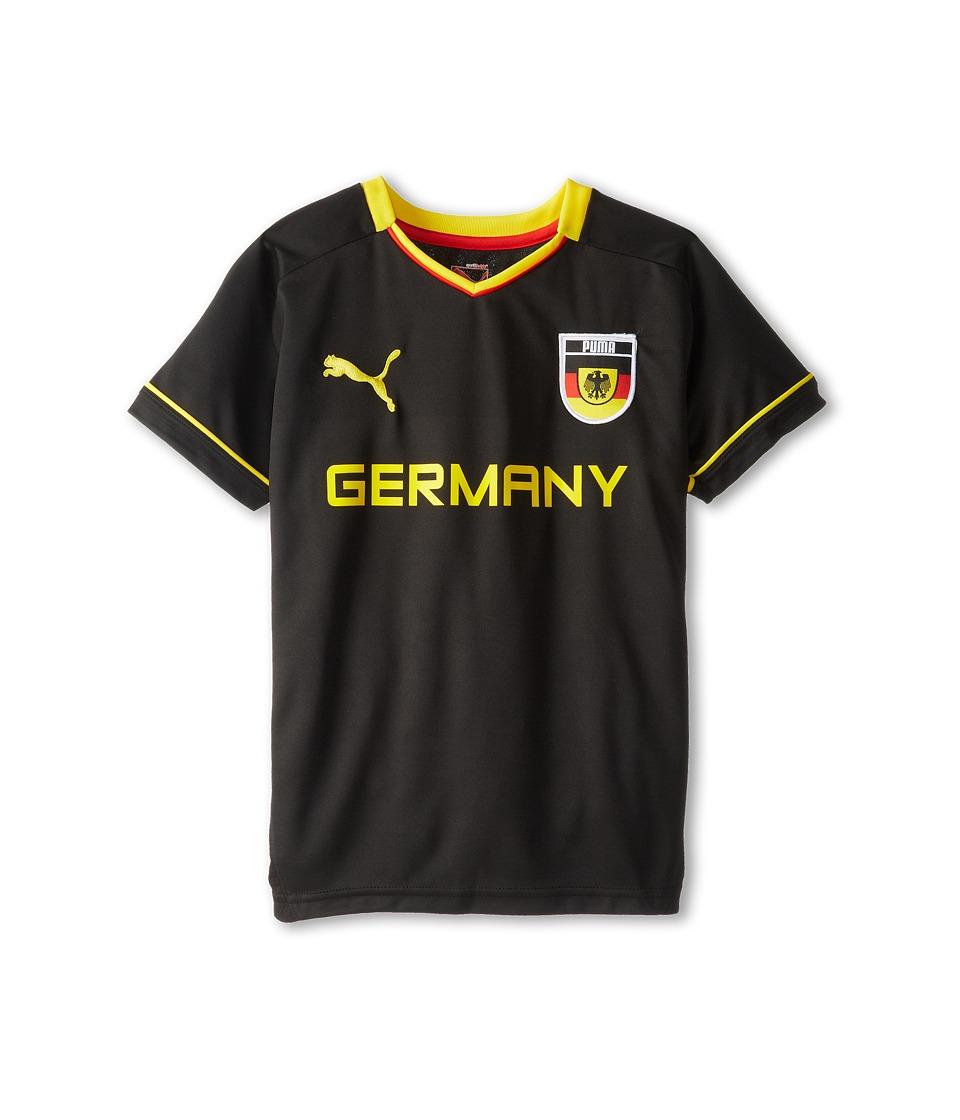 Puma Kids Germany Tee Boys T Shirt (Black)