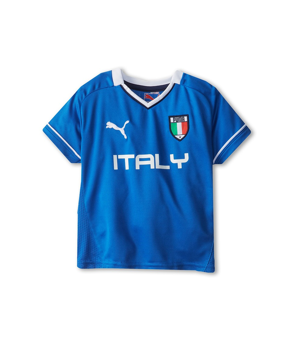 Puma Kids Italy Tee Boys T Shirt (Blue)