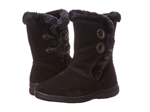 White Mountain - Trip (Black Suede) Women's Boots
