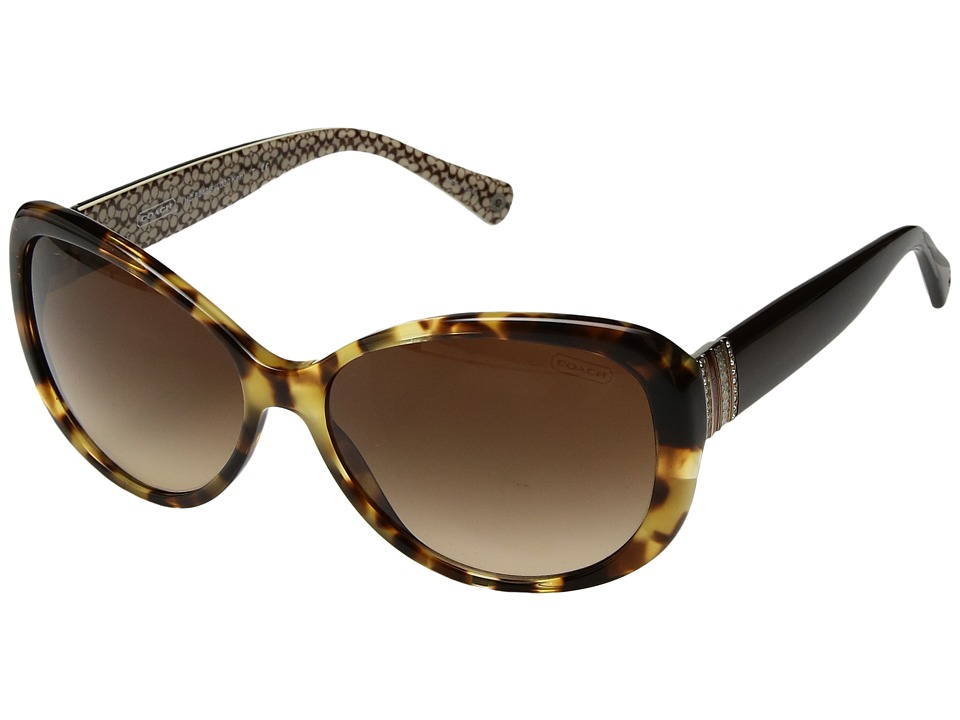 COACH - 0HC8040B (Spotty Tortoise) Fashion Sunglasses
