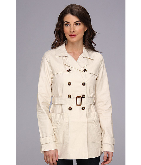 Sanctuary Sandstone Trench (Sandstone) Women's Coat