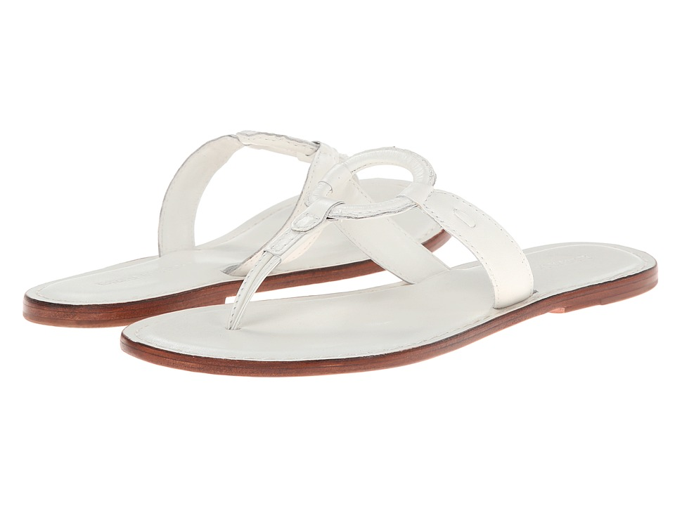 Bernardo - Matrix (White Calf/Luggage Calf) Women's Sandals