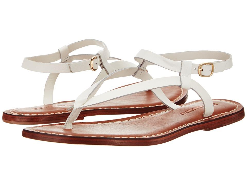 690467189136. Bernardo Merit (White Vachetta/White Calf) Women's Sandals