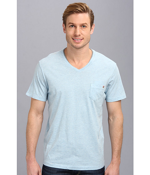 Howe - Comin Correct Pocket Tee (Blue Haze) Men's T Shirt