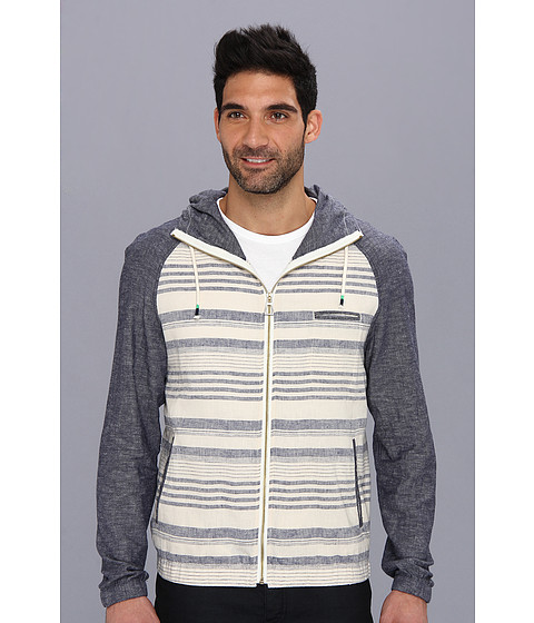 Howe - Glory Sequence Zip Hoodie (Bone) Men's Sweatshirt