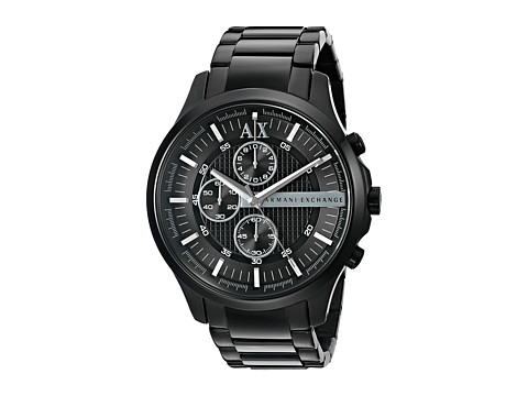 AX Armani Exchange - Hampton (Black) Analog Watches
