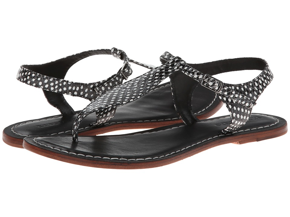 Bernardo - Mistral (Roccia/Black Calf) Women's Sandals