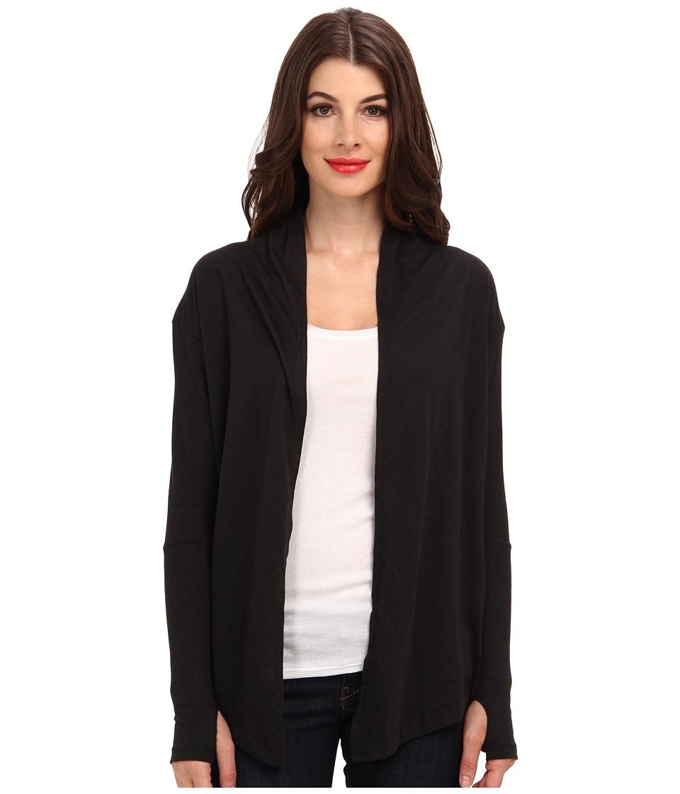 Alternative - Thumbs Up Wrap (Eco True Black) Women's Sweater