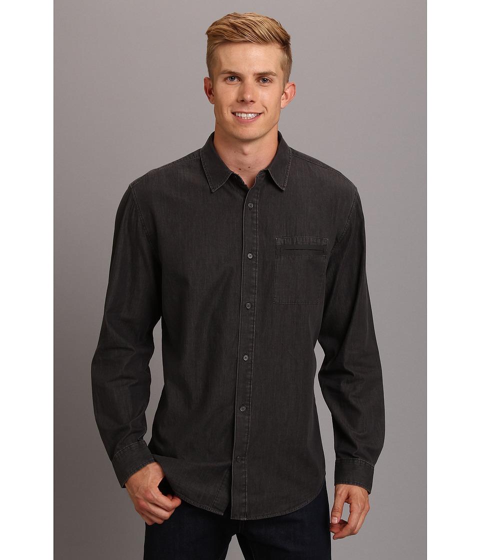 Elie Tahari - Steve Shirt J213C504 (Grey) Men's Long Sleeve Button Up