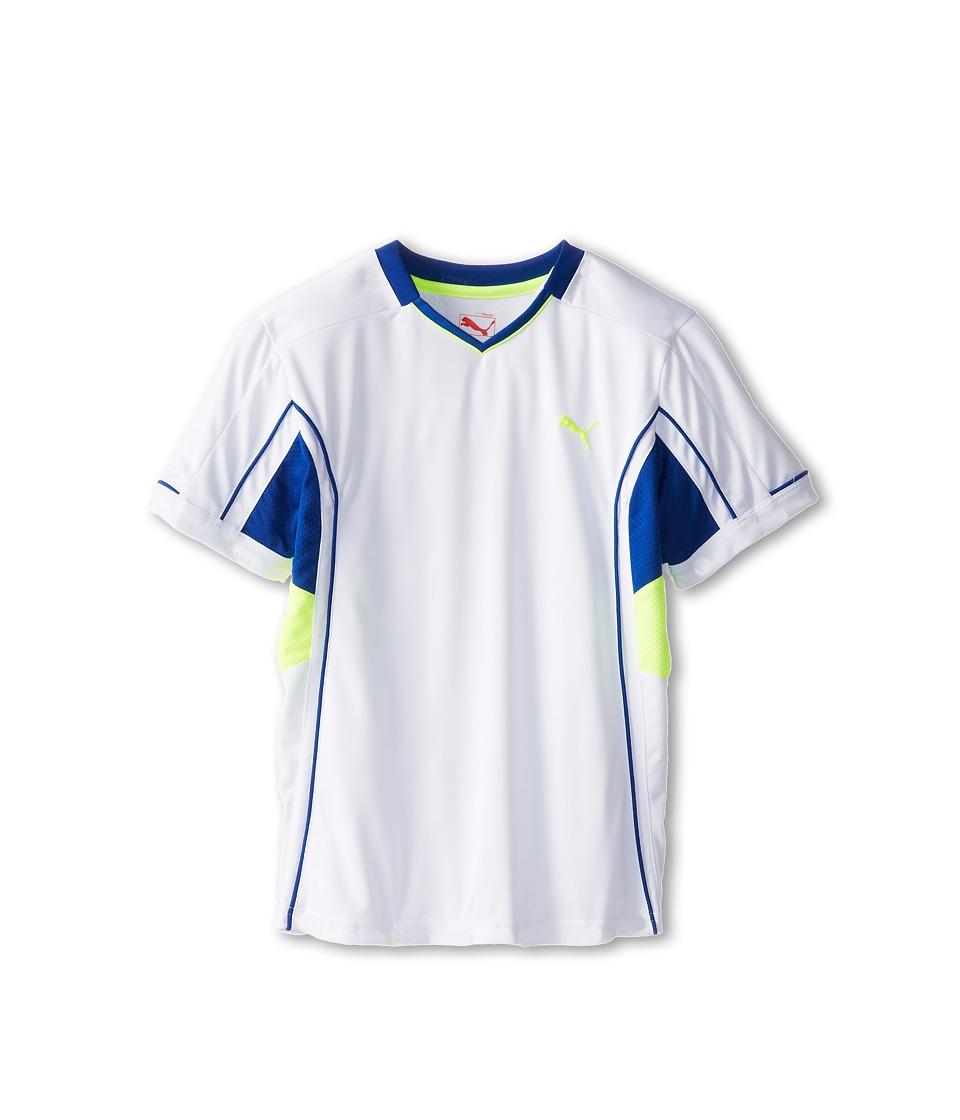 Puma Kids Perform Tee Boys T Shirt (White)