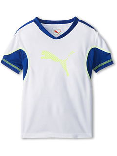 SALE! $17.99 - Save $10 on Puma Kids Move Tee (Little Kids) (White) Apparel - 35.75% OFF $28.00