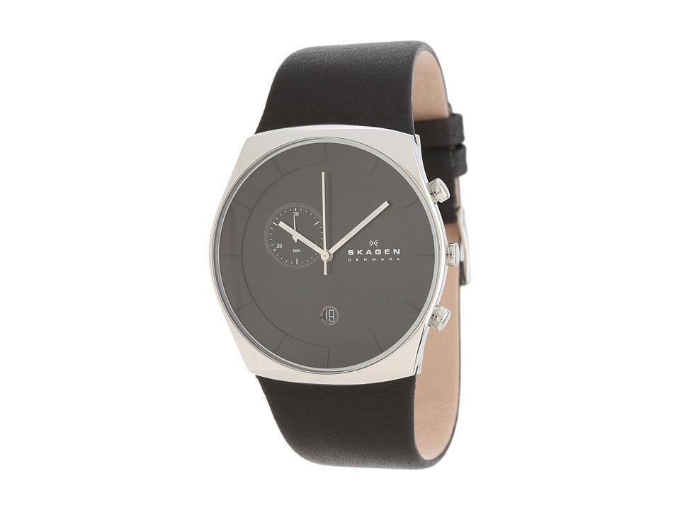 Skagen - Havene (Silver/Black) Analog Watches