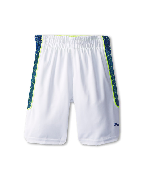 Puma Kids - Wins Short (Big Kid) (White) Boy's Shorts