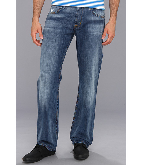 Hudson - Wilde Five-Pocket Relaxed Straight Jean in Melt Into The Sea (Melt Into The Sea) Men's Jeans