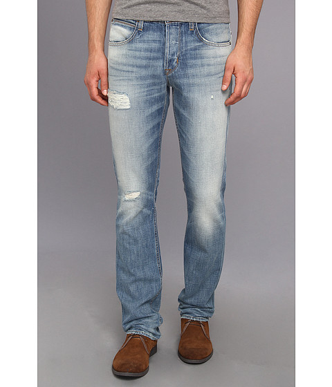 Hudson - Byron Five-Pocket Straight Leg Jean in Postman (Postman) Men