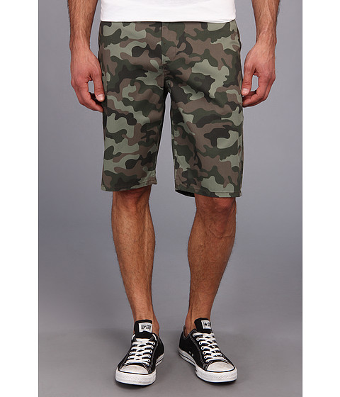 DC - DC Worker Chino Short (Woodland Camo) Men's Shorts