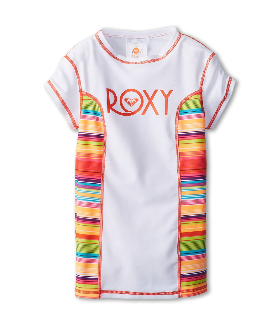 Roxy Kids Sundown S/S Rashguard Girls Swimwear (Multi)